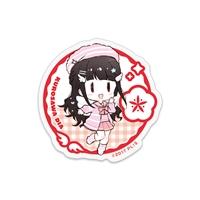 『ラブライブ!サンシャイン!!』アクリルステッカー〜9 angels☆〜 黒澤ダイヤ