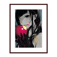【会場予約】『姉なるもの』飯田ぽち。箔押しサイン入り複製原画